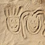 Marco e Chiara sulla spiaggia